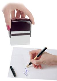 Штамп факсимиле